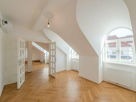 ++PREISREDUKTION++ Außergewöhnliche DG-Wohnung mit Dachterrasse + Wintergarten u. Sauna! ERSTBEZUG nach Sanierung!