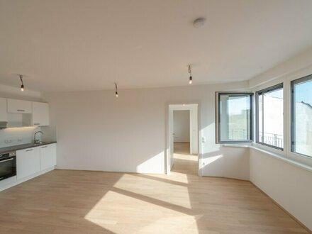 Six in the City: 2-Zimmer mit Balkon, BESTLAGE, NEUBAU-ERSTBEZUG, **hofseitig**