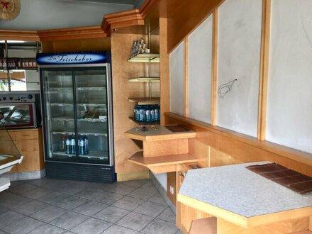 ++NEU** möbliertes Verkaufslokal (ehemaliges Bäckereilokal) in gutem Zustand!