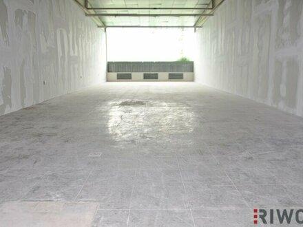 89m² Lagerfläche mit LKW-Rampe!