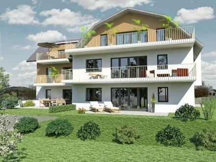 Exklusive 3Zi Wohnung mit SEEBLICK Garten und Balkon