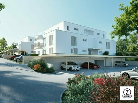 Neubau - Provisionsfrei: 3-Zi.-Wohnung mit ca. 11 m² S/W-Balkon