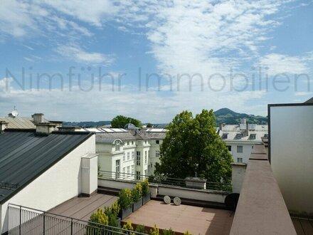 Großzügige 3-Zimmer-Dachgeschoß-Galerie-Wohnung in Toplage - Nähe Mirabellplatz