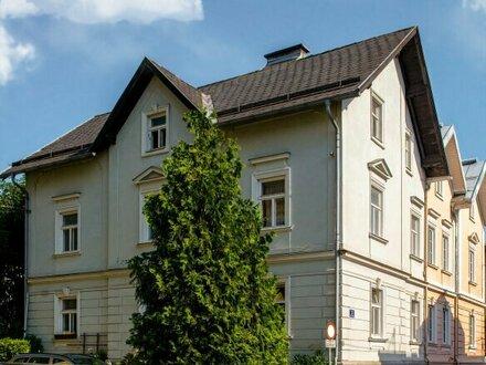 3 Zimmer Etagenwohnung in historische VORSTADT-VILLA