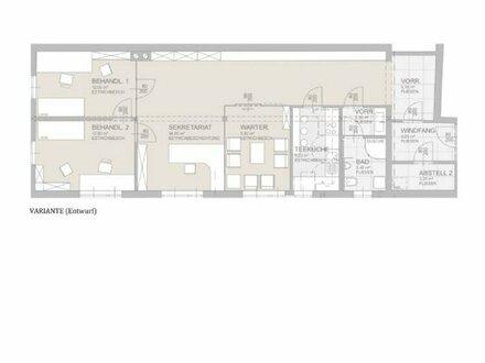 Barrierefreie Ordination / Atelier / Büro - Erstbezug - Salzburg Nonntal