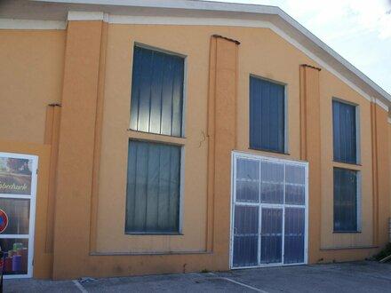 HALLEN Beispiel: 105m², es sind auch größere und kleinere Hallen verfügbar!