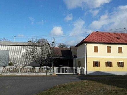 Wohnhaus mit 2 Hallen Nähe Oberwart