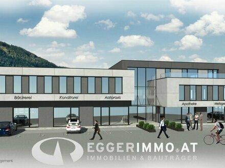 Neubauprojekt: GESCHÄFTS- BÜRO - PRAXISRÄUME - in Kaprun zu verkaufen