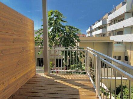 ++PROVISIONSFREI** ERSTBEZUG, Kernsanierter Altbau, 1-Zimmer + 5m² Balkon, Ruhelage, südseitig!