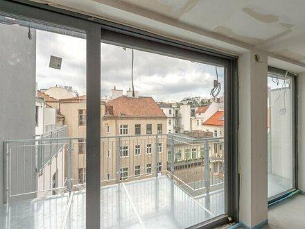 ++NEU++ ProjektGOLDSCHMIEDE, Hochwertiger 3-Zimmer DG-ERSTBEZUG mit ca. 12m² Terrasse!