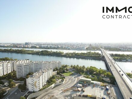 What a view! Atemberaubender Weitblick inklusive - Charmante Garconniere im Hochhaus Neue Donau