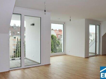 Provisionsfreie Eigentumswohnung - Dachgeschoss - Erstbezug!