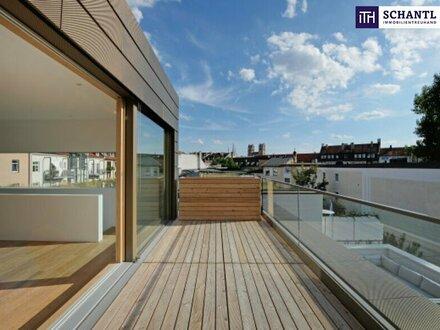 ITH: Penthouse: Luxuriöser Erstbezug mit sonniger Dachterrasse! GARAGE!