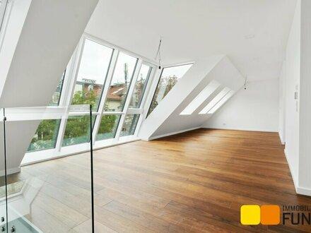 Dachgeschossmaisonette, erlesene Ausstattung, Terrasse auf Wohnebene