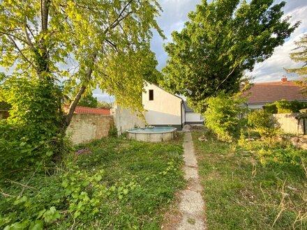 Haus mit 400 m2 Garten und 150 m2 Lagerhalle zu vermieten!