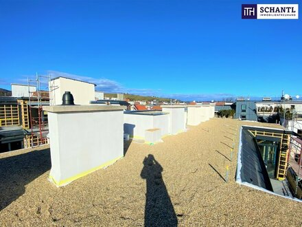 Schnell zugreifen! Perfekt aufgeteilte 3-Zimmer Dachgeschoßwohnung mit hohen Räumen und riesiger Dachterrasse mit atemb…