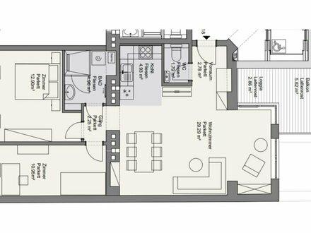 ++NEU++ Kernsanierter 3-Zimmer Altbau-ERSTBEZUG mit ca. 8m² Balkon! optimaler Grundriss!
