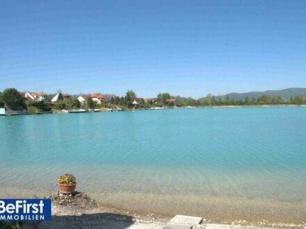 Seltenheitswert: Zauberhaftes Seegrundstück mit Einfamilienhaus