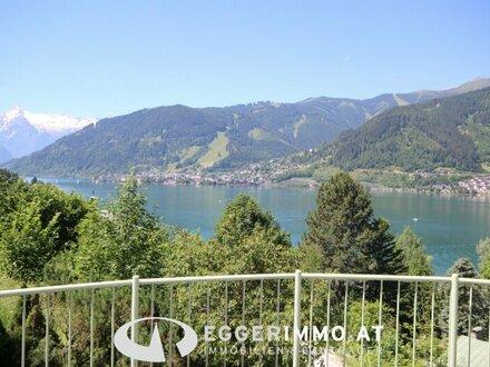Zell am See: INVESTMENT !! touristisch vermietbar !! freistehende Villa 300 m2 Wfl. oberhalb dem Zeller See große Garage…