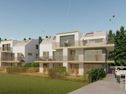 Neues Bauvorhaben: 3-Zi.-Gartenwohnung in Hallwang/Mayrwies