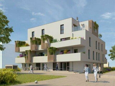 Wienerberg: Helle Neubauwohnung in kleinem Haus