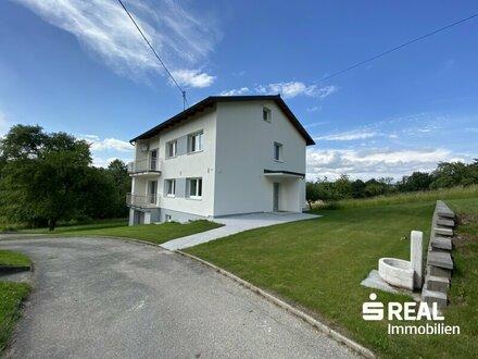 Ruhesuchende aufgepasst – 3 Zimmer Wohnung mit Garten in Sipbach/Pucking zu mieten
