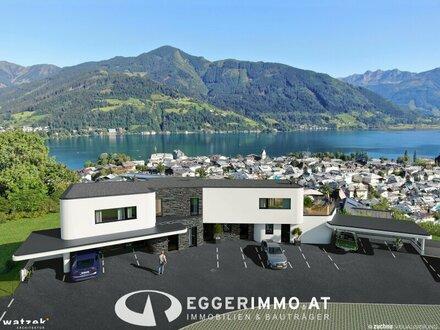 """Neubauprojekt """"Seeblick Residenz"""": 5 Luxuswohnungen mit traumhaften Weitblick auf den Zeller See"""