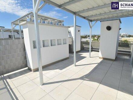 """""""DER MARKHOF"""" - Vom Feinsten! 3 Zimmer + Dachterrasse on Top + Großer Balkon + Erstbezug. Was wollen Sie mehr?"""