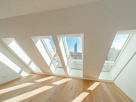 ++NEU** Großzügiger 2-Zimmer DG-ERSTBEZUG mit toller Dachterrasse! komplett saniertes Haus!