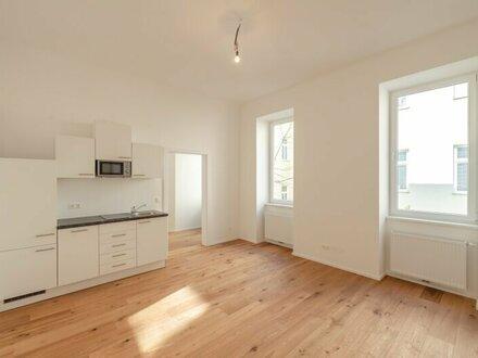 ++NEU++ 2-Zimmer ALTBAU-ERSTBEZUG mit Küche, Hofruhelage!