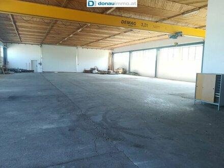 Betriebsliegenschaft Halle für Gewerbe u/o Produktion nahe Traismauer zwischen Krems und St. Pölten