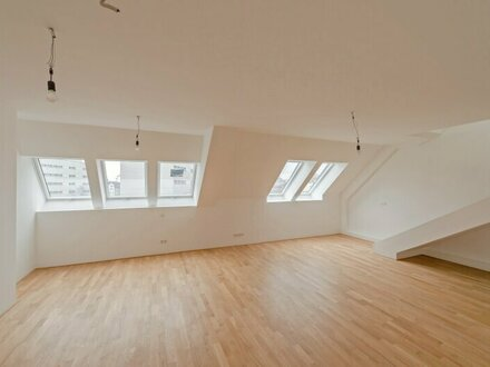 ++NEU** 4-Zimmer DG-Erstbezug, große Wohnküche! Balkon+Terrasse!