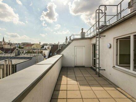 ++NEU++ Großzügiger 4-Zimmer DG-Erstbezug mit toller Dachterrasse, BESTLAGE in 1080!