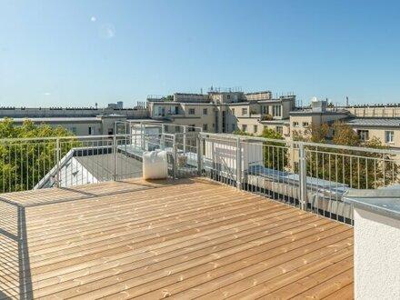 ++NEU** 3-Zimmer DG-Maisonette mit Donaublick und toller Terrasse!