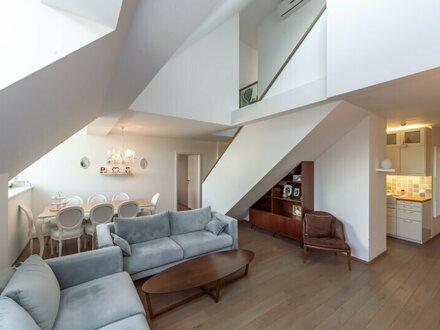 ++NEU++ Möblierte LUXUS DG-Maisonette, großzügige 3-Zimmer + Dachterrasse! BESTLAGE