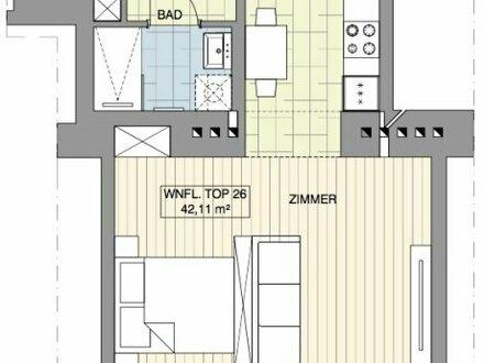 TOP SINGLE-WOHNUNG! Beneidenswerte Kleinwohnung im Erstbezug!