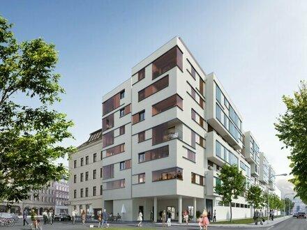 Erstbezug mit Küche - hofseitige 2 Zimmer mit Loggia, U-Bahn Nähe - LIWI280/30
