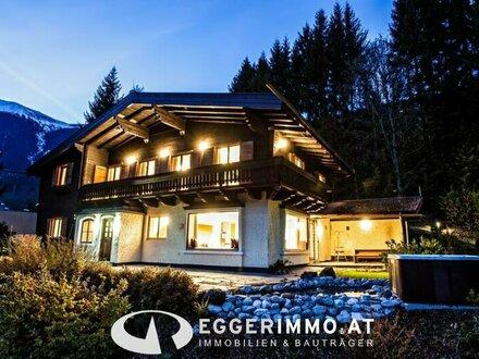 Zell am See: Touristisch vermietbares, renoviertes Landhaus, mit ca. 6000m² Grundstück mit Wald, 6 Doppelzimmer, Sauna Landschaft!!…
