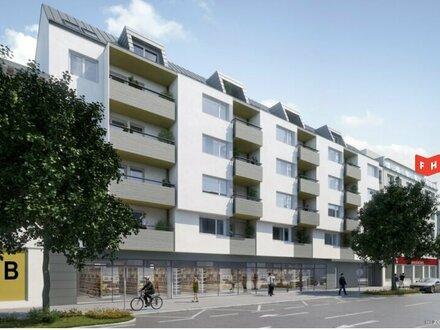 Neuinstandgesetzte Geschäftsflächen mit ca. 850 m2 in einem Neubauobjekt Nähe Floridsdorf am Spitz