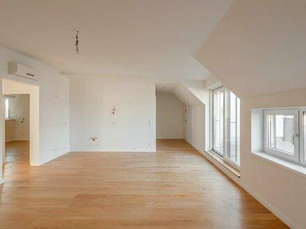 ++NEU** Hochwertiger 3-Zimmer DG-ERSTBEZUG mit Terrasse (23m²), sehr guter Schnitt! alles auf einer Ebene!