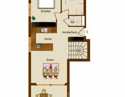 GANZ GROßE KLASSE | Neue 2.5-Zi-Dachgeschoß Wohnung mit Galerie ca. 79 m2 + 2 PKW-Stellplätze | Leopoldskron-Moos