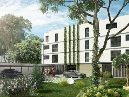 Barrierefreie Drei-Zimmer-Wohnung mit Loggia, Fernblick, Schlafzimmer in den ruhigen Innenhof,