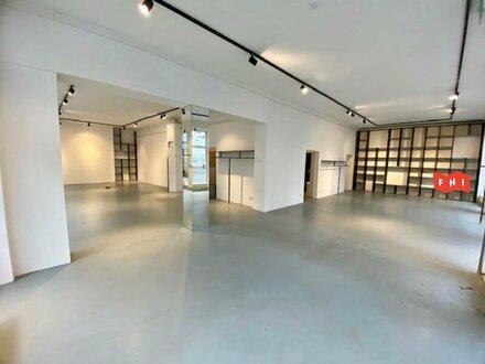 Eckgeschäftslokal mit NEU renovierten Glasfronten