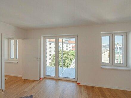 ++NEU** Hochwertiger 2-Zimmer NEUBAU-ERSTBEZUG mit hofseitigem Balkon! auch perfekt für ANLEGER o. Pärchen!