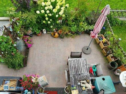 Grünoase mit Terrasse und Garten - chillige 3-Zimmerwohnung in Elsbethen