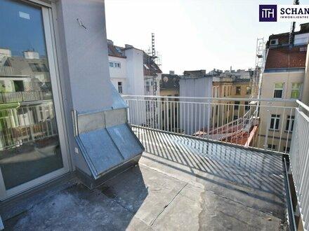 Perfekte Kleinwohnung im Dach! Hier werden Wohnträume wahr! Hofseitige Sonnen-Terrasse + Hochwertige Ausstattung + Rundum…