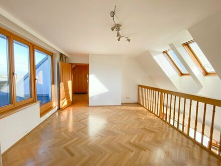 Absolute Ruhelage, 123 m2 Dachgeschoss Maisonette mit 2 Terrassen und Kahlenbergblick!