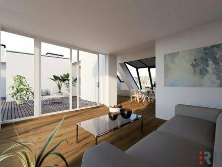 Ein unvergleichbarer Ausblick   Dachgeschoß-Wohnungen mit herausragendem Blick über die Wiener Innenstadt