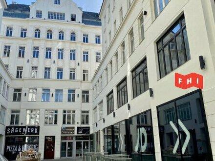 Sonnige DG-Wohnung mit Terrasse auf der Mariahilferstraße