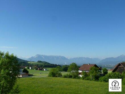 Anthering - Ruhige sonnige 3 ZI.-Wohnung mit herrlichem Ausblick